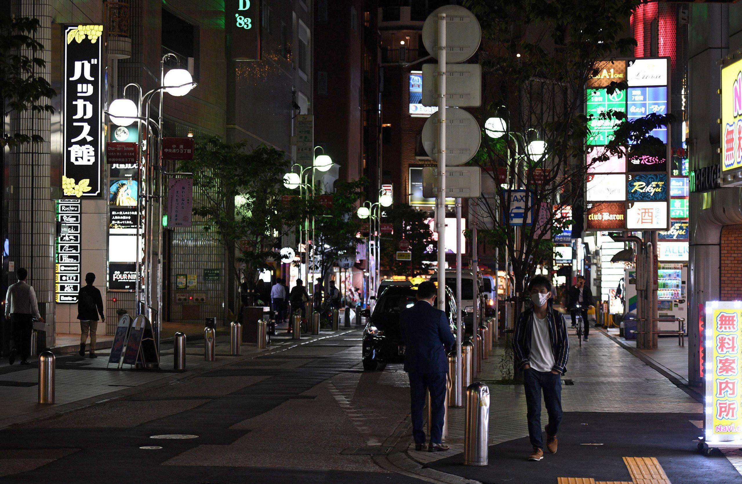 時短営業中の福岡市の繁華街(写真と投稿は関係ありません)